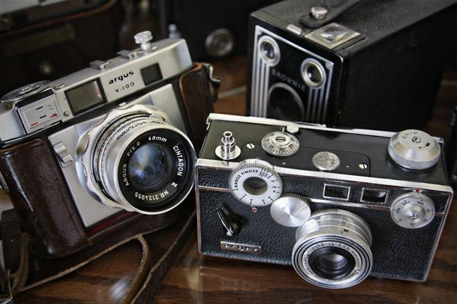 Vintage Cameras, Photography